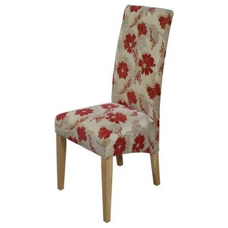 Red Floral Chair Like Floral Chair Upholstered Dining Chairs Chair