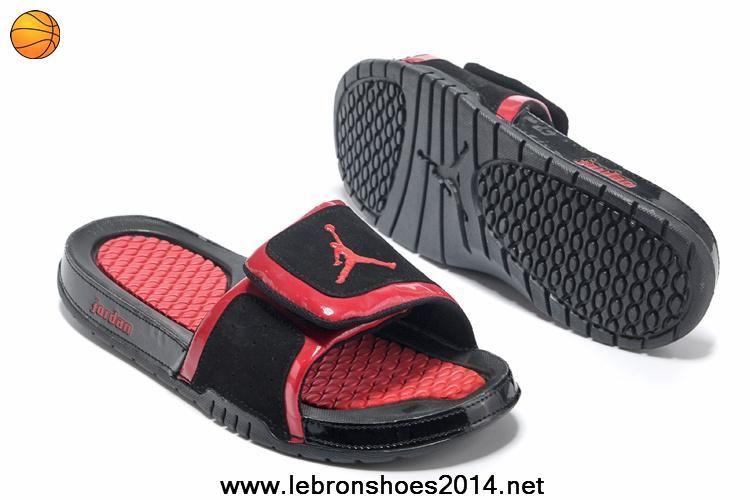 a56e2d154b03 Buy Nike Jordan Hydro 2 Slide Sandal Black Gym Red Outlet