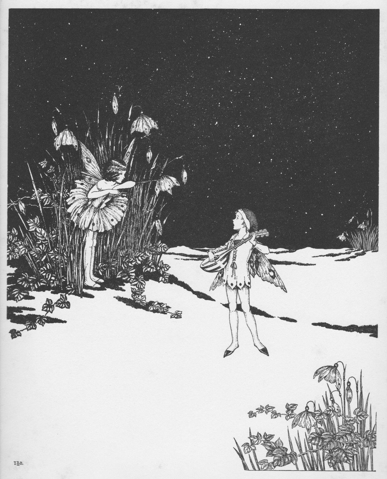 Ida Rentoul Outhwaite 'Breath of Spring' 1931 | eBay