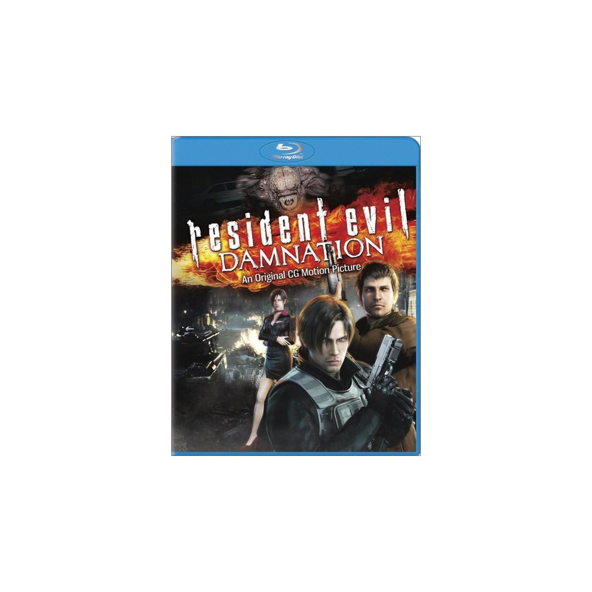 Resident Evil Damnation Blu Ray Includes Digital Copy Ultraviolet Resident Evil Evil Ultra Violet