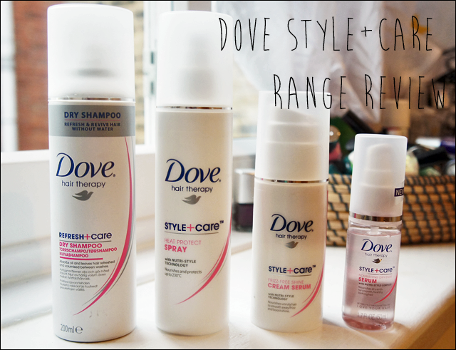 Dove Style and Care Hair Care Range Review Hair care
