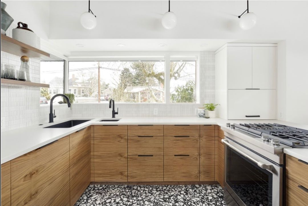 Ann Sacks New York On Instagram Fabulous Friday Install Featuring Our In Stock Terrazzo Renata And Savoy In 2020 Kitchen Inspirations Kitchen Remodel Kitchen Design