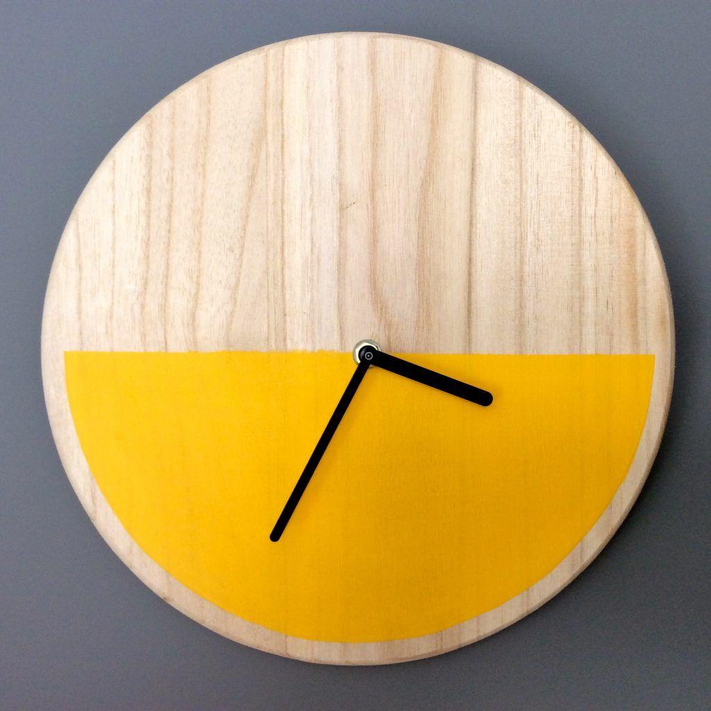 Horloge Diy2 Idees Deco Pinterest Horloge Faire Soi Meme Et Diy