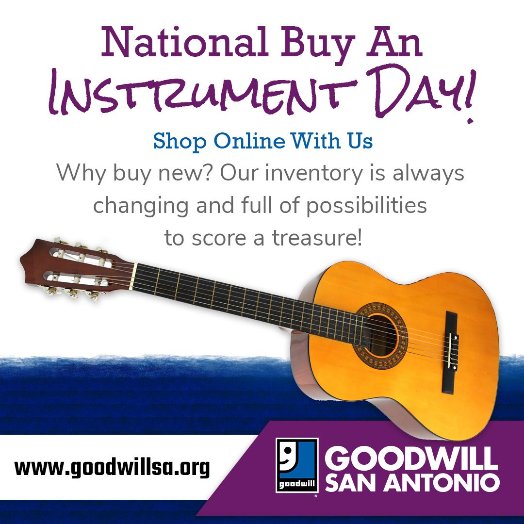 It is National Buy an Instrument Day. Are you a budding