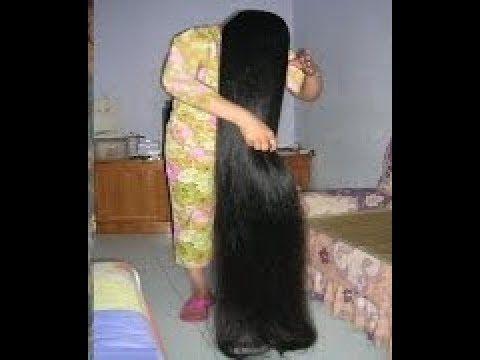 وصفة مضمونة ١٠٠ لتطويل الشعر بسرعة تطويل الشعر المستعصي للركبة لن تصدقي طول شعرك
