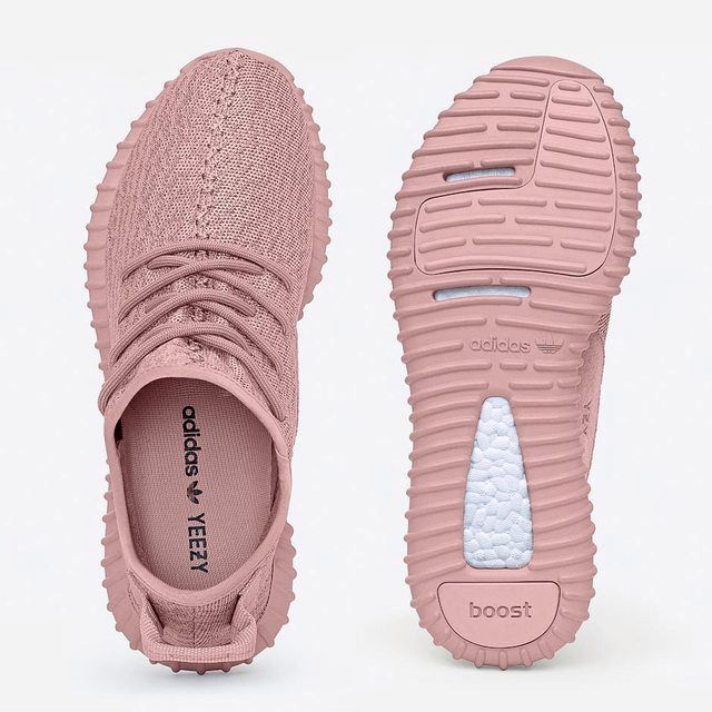 Yeezy Boost 350 All Pink Women Sneakers   Adidas shoes women ...