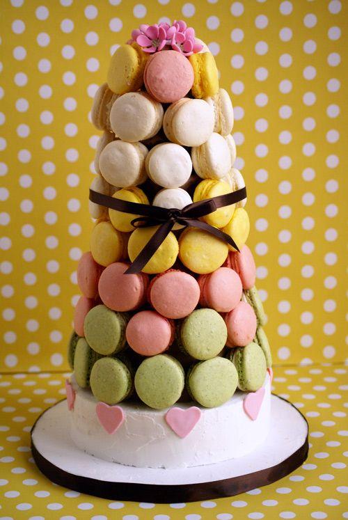 French Macaron Croquembouche Brooklyn Cake Croquembouche Macaron Cake Cake