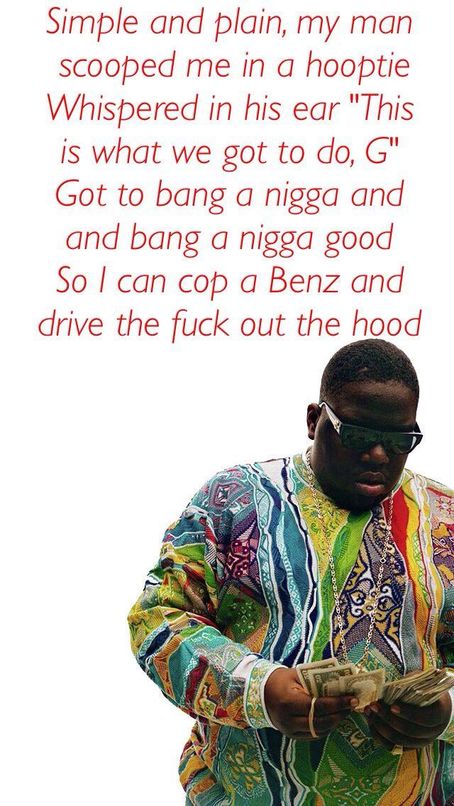 Lyric real nigga lyrics : B.I.G. Biggie smalls coogie wallpaper rap lyric hip - hop quote ...