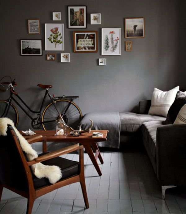 16 Enticing Wall Decorating Ideas For Your Living Room: 8 Male Living Space Design Inspirations