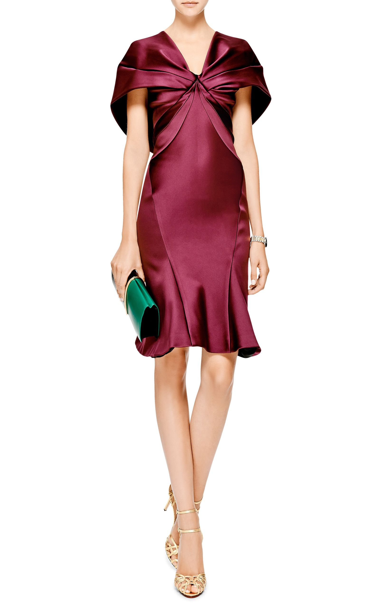 502c1e04151 Zac Posen · V Neck Dress · Click product to zoom Satin Dresses