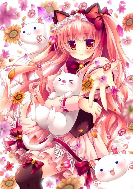 Pin On Anime ɲeko ɲyan Cat Girls