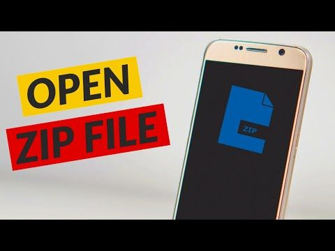 How To Open Zip Files On Android Extract RAR Files in