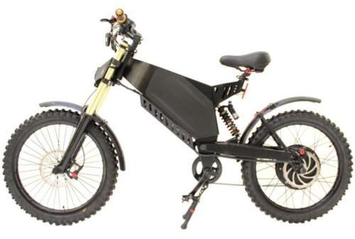 Stealth Bomber Electric Bicycle E Bike Diy Frame Fork 3000w