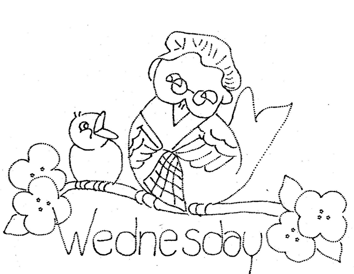 Vintage hand embroidery pattern in pdf file momma by blondiesspot explore towel embroidery and more vintage hand embroidery pattern bankloansurffo Images