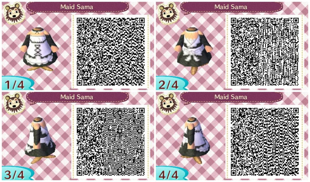 Leather jacket qr code new leaf - Animal Crossing New Leaf Qr Codes Google Search