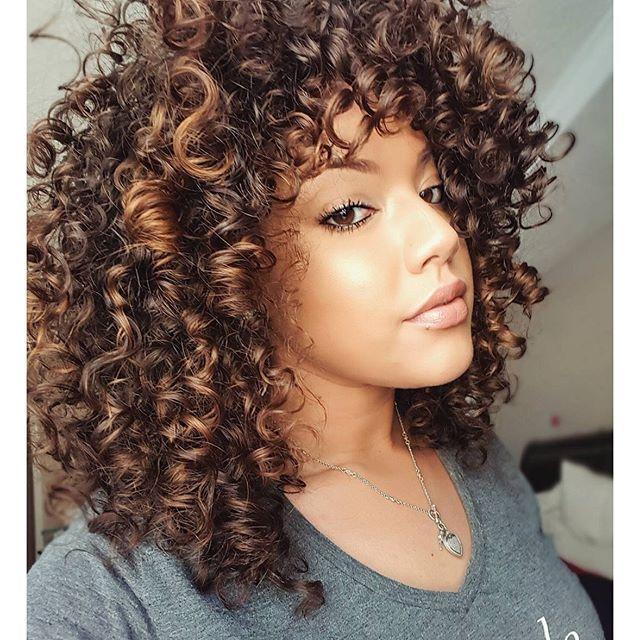 Pintura Highlights Google Search Hair Highlights Curly Hair Styles Naturally Highlights Curly Hair