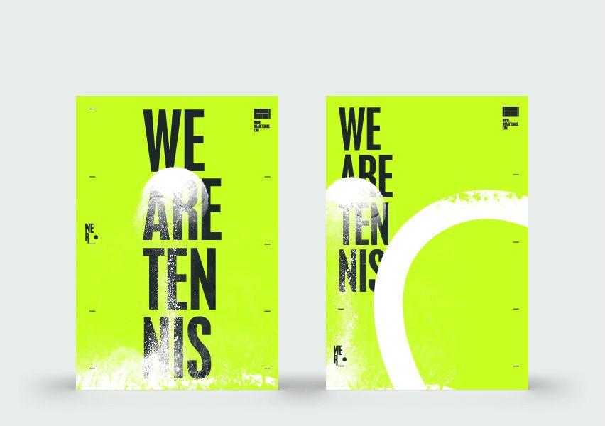 Poster Designs Tennis Posters Tennis Art Branding