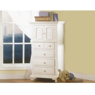 Beachcrest Eggshell White Wood Lingerie Chest By Greyson Living
