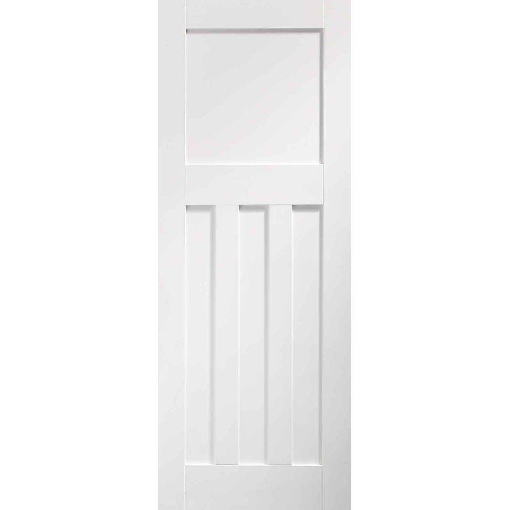 Dx 1930 S Panel Door White Primed In 2020 Fire Doors Internal Internal Doors Fire Doors