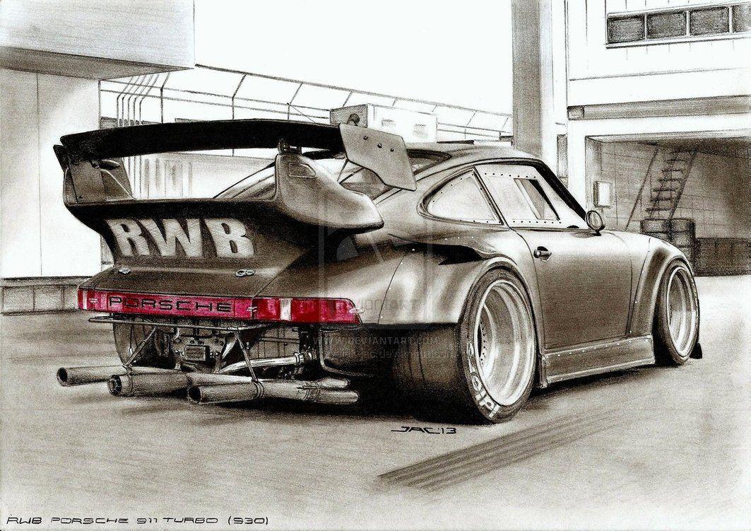 Porsche Rwb Sketch Porsche 911 Turbo Porsche
