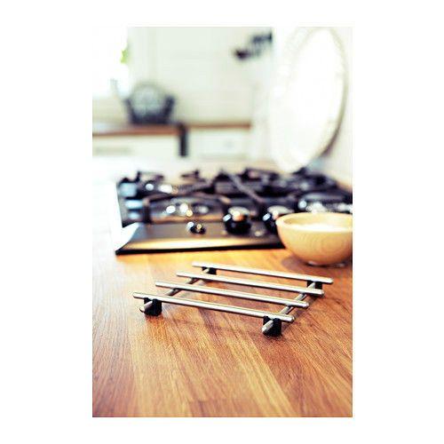 Ikea Trivet 7x7 Stainless Steel Pot Pan Stand Countertop Heat