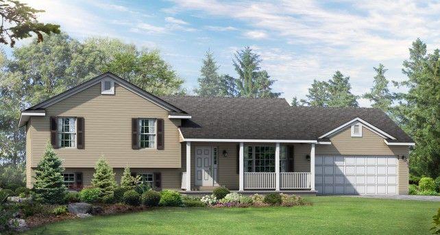 Split Level Custom Home Designs The Lexington Wayne