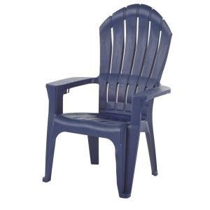 Big Easy Midnight Resin Plastic Adirondack Chair 30 The Home