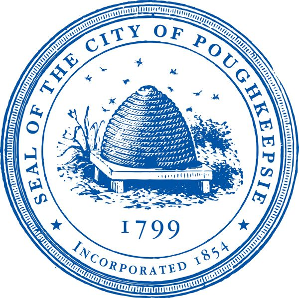 Seal Of The City Of Poughkeepsie Poughkeepsie Poughkeepsie New York Hudson Valley Ny