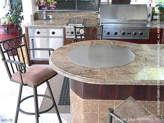 A Teppanyaki Cooking Surface Built Into Your Countertop Hibachi