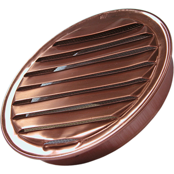 Round Copper Insert Vent 1 6 Eave Vent Exhaust Fan Kitchen Kitchen Exhaust