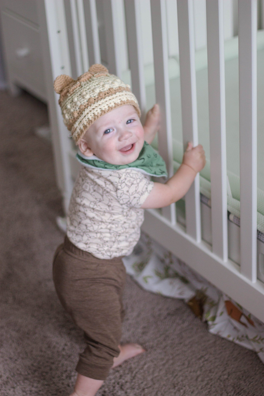 Handmade Baby Hat - Baby Bear Beanie - Winter Hat for Boys - Bear Hat for  Boys - Bear Beanie for Boys - Brown Baby Hat - Bear Baby Beanie 3850afd93fcb