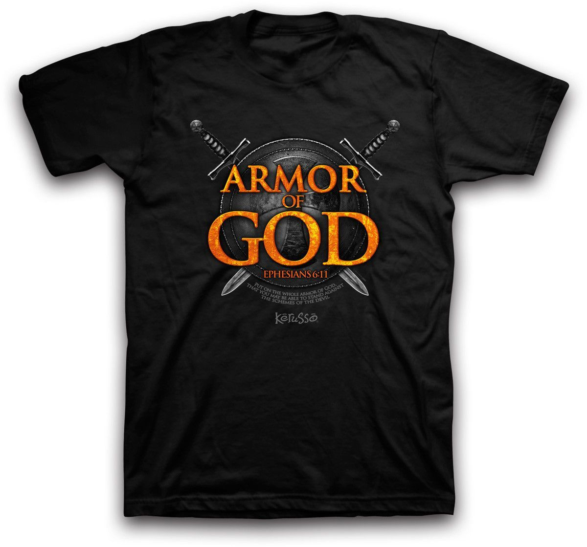 Hot new product now available on our store  Armor of God NEW Christian Kerusso Black Short Sleeve Tshirt Check it out here! [product-url