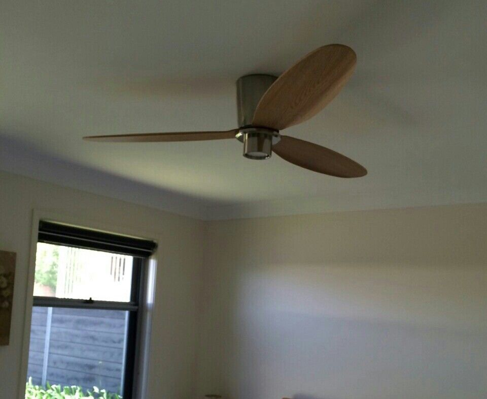 Ceiling fan with light for all bedrooms airfusion radar dc from beacon lighting