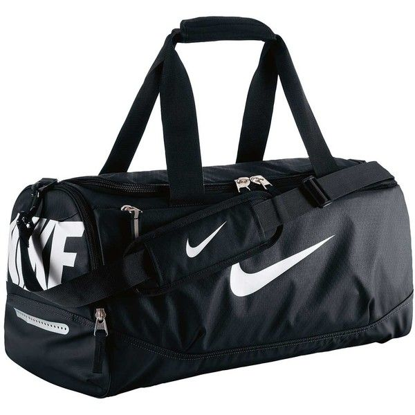 Nike Team Training Max Air Small Duffel Bag ( 36) ❤ liked on Polyvore  featuring bags 1673e68f1122b