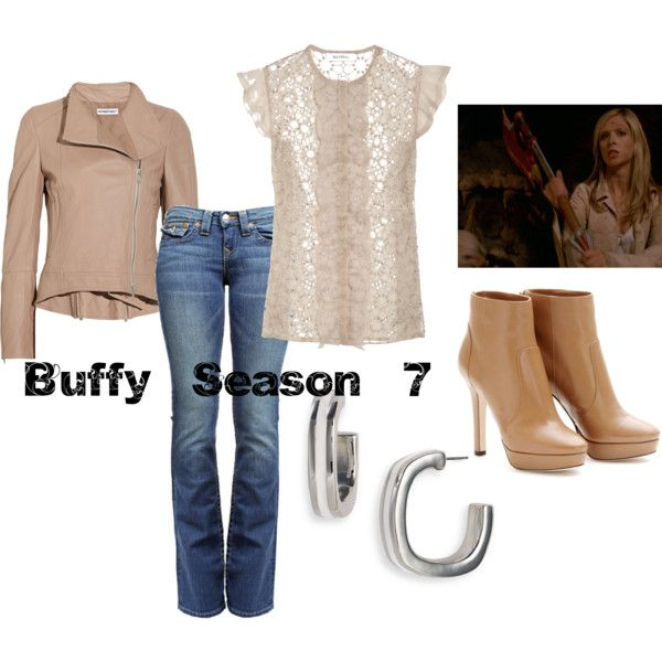 Buffy Season 7 What My Closet Should Look Like Fashion Casual Cosplay Clothes