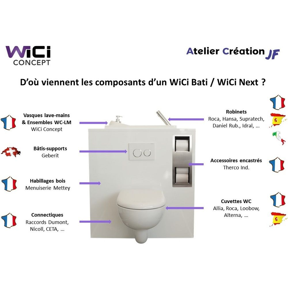Wc Suspendu Geberit Avec Lave Main Wc Suspendu Geberit Avec Lave Main Wici Bati Miami En 2018