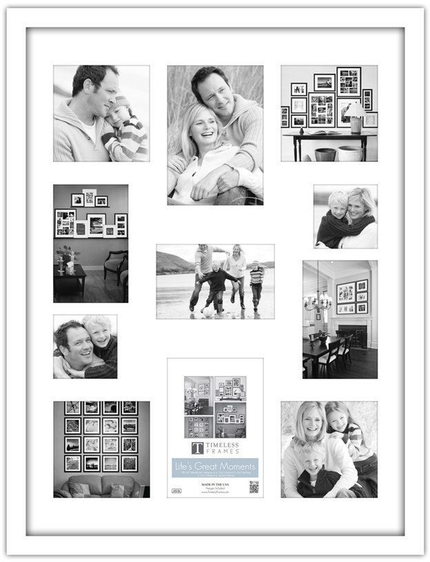Timeless Frames 11-Opening Collage Frame, Black | Products