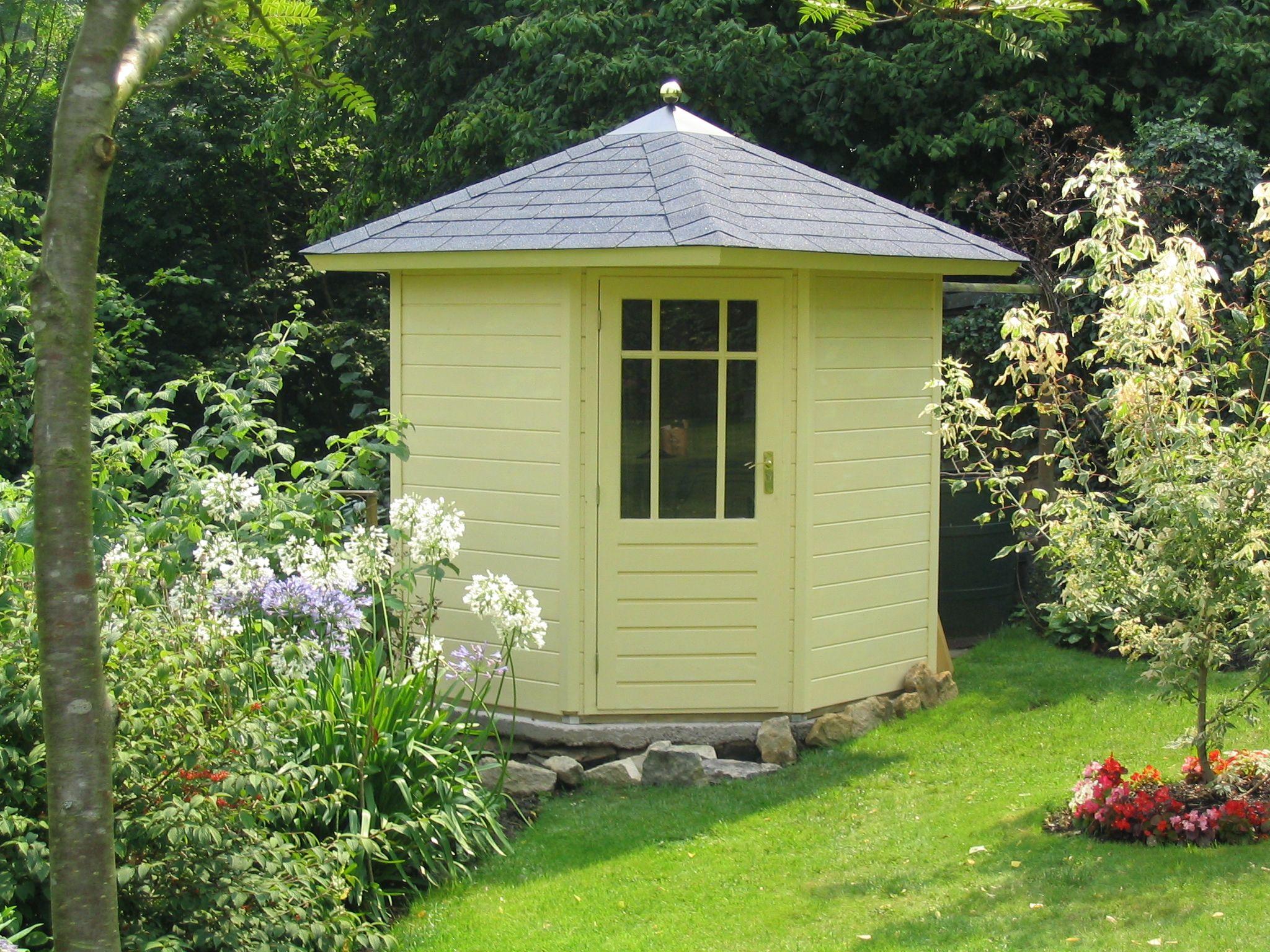 pretty corner garden shed - Corner Garden Sheds 7x7