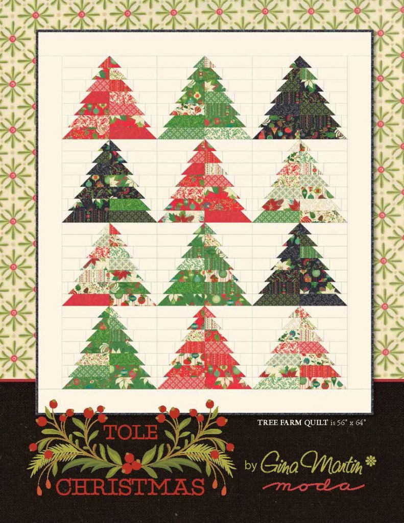 Tole Christmas Moda Bake Shop Christmas Tree Quilt Tree Quilt Pattern Christmas Tree Quilt Pattern