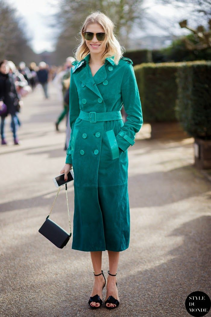 10 Stylish Ways To Wear Your Coats This Weekend | Tour de STFU