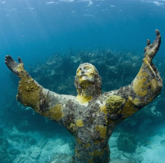Mysterious Statues You Can Only See Underwater Key Largo - The snorkeling guide to florida 10 spots for underwater exploring