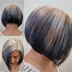 Image Result For Reverse Highlights For Gray Hair Reverse Ombre Hair Gray Hair Highlights Reverse Ombre