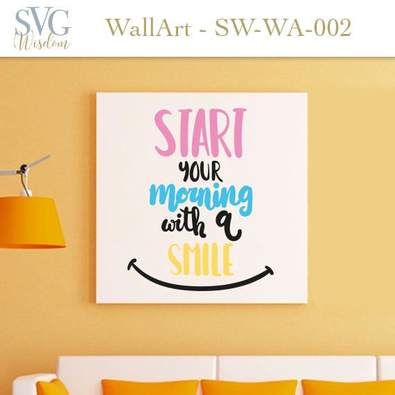MOTIVATIONAL Phrase wall art printable cricut silouette studio ...