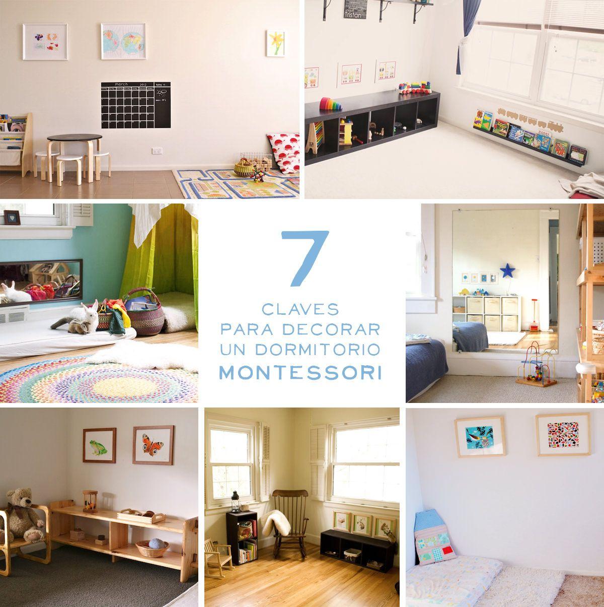 7 ideas Montessori para decorar una habitación infantil en ...