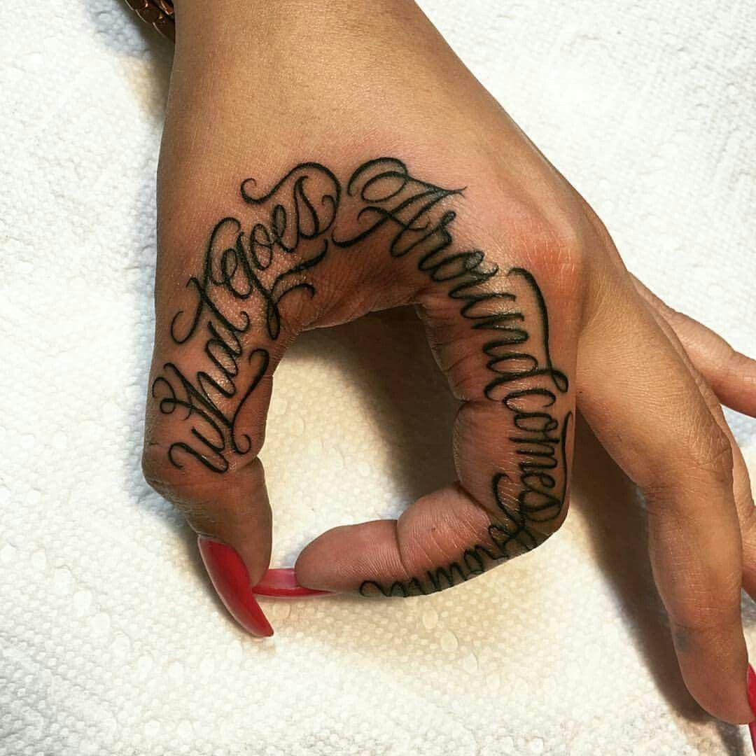 love the font Finger tattoos, Hand tattoos, Tattoos