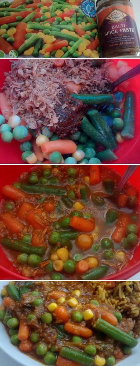 Paste frozen veg 5 minutes dinner easy vegetarian curry for paste frozen veg 5 minutes dinner easy vegetarian curry for one forumfinder Images