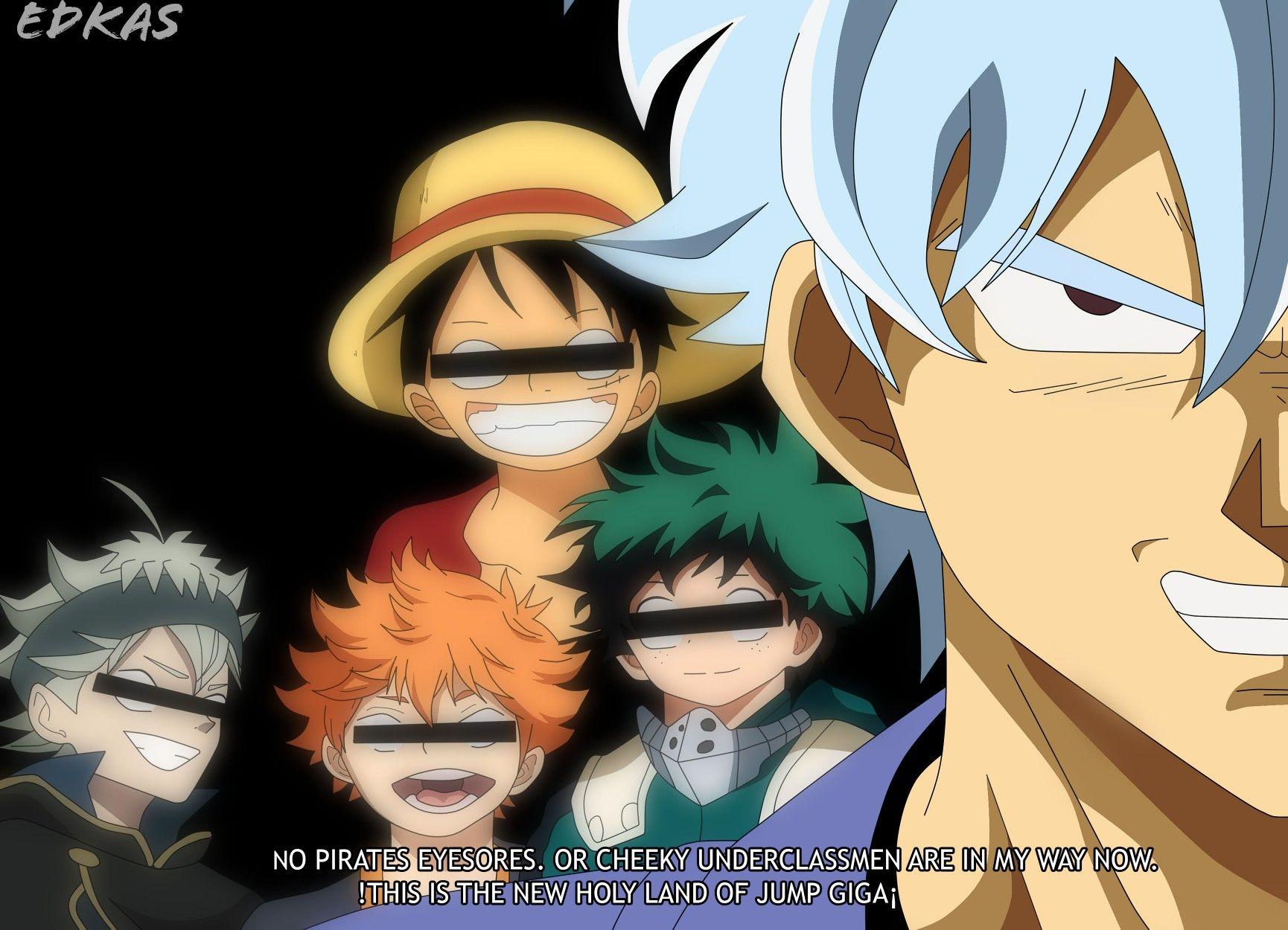 Pin de Shonen Jump Heroes em Shonen Jump & crossovers em