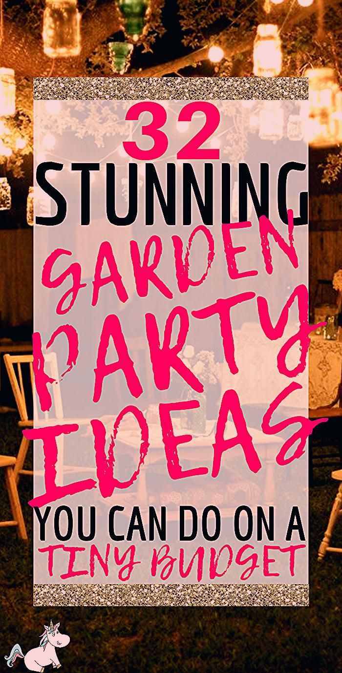 Photo of 32 Best Garden Party Ideas (With Pictures) You Shouldn't Miss In 2020 | The Mummy Front