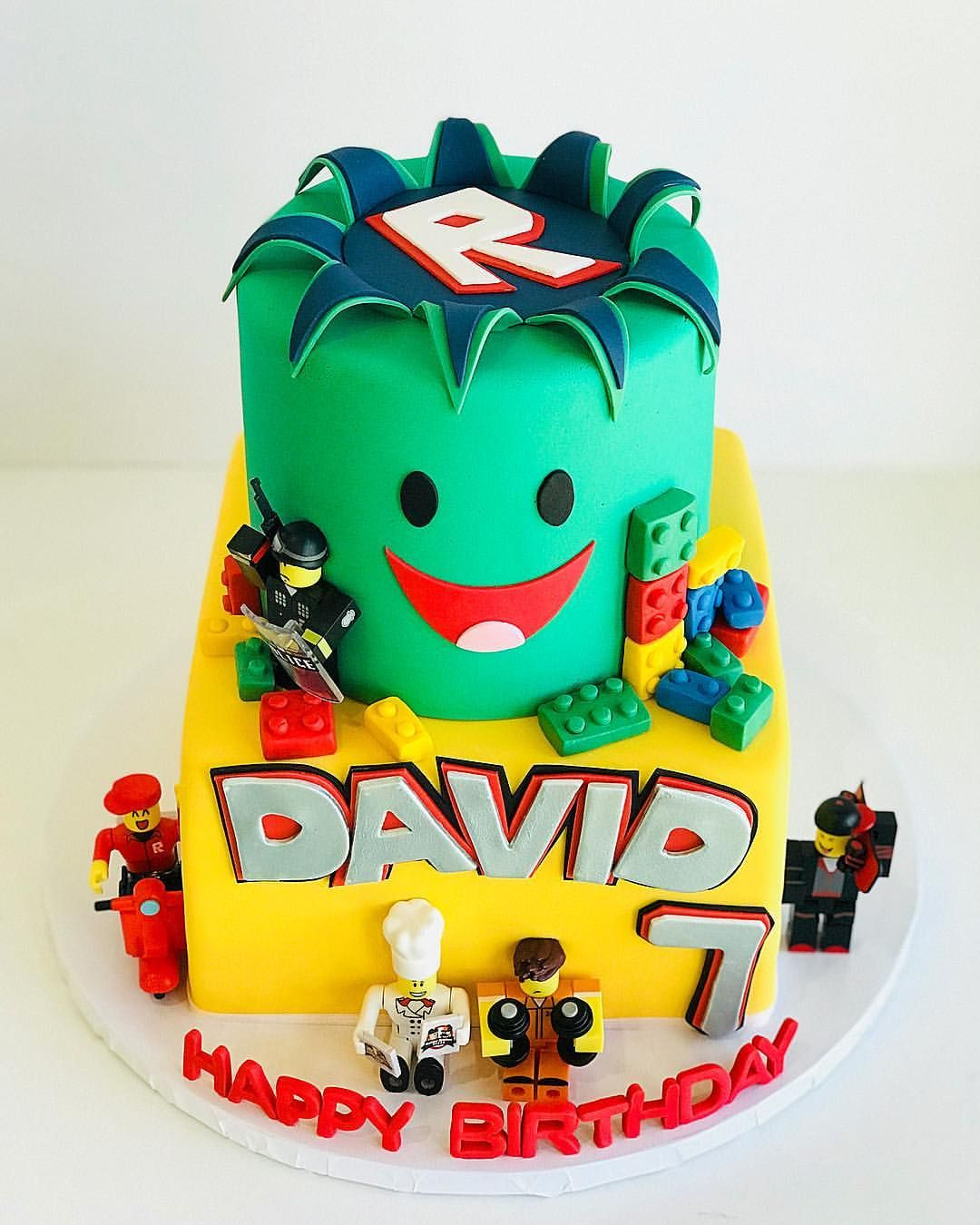 Roblox Cake For Boy Happy 7th Birthday David Robloxcake Legocake Purpleelephantcakes Phoenixfoodie Phoenixeats Phoenixcustomcakes 7th Birthday Cakes Birthday Cake Kids Cake