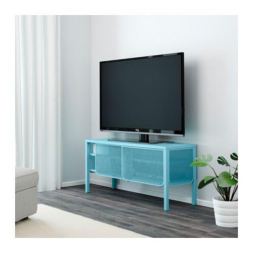 Nittorp tv unit turquoise ikea denver apt inspo pinterest tv units - Ikea armoire metallique ...